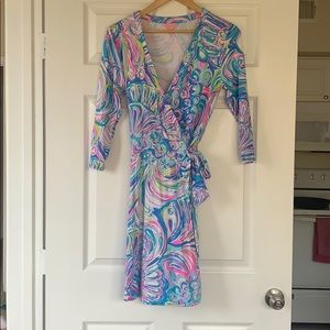 Lilly Pulitzer Emilia Wrap Dress